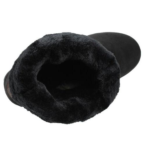 Winter Boots Fur Suede Calf Warm Snow Fashion Plush 4 Colors