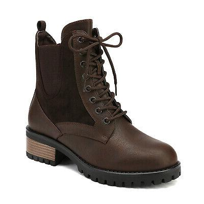 DREAM Chelsea Ankle Boots Up Up Combat