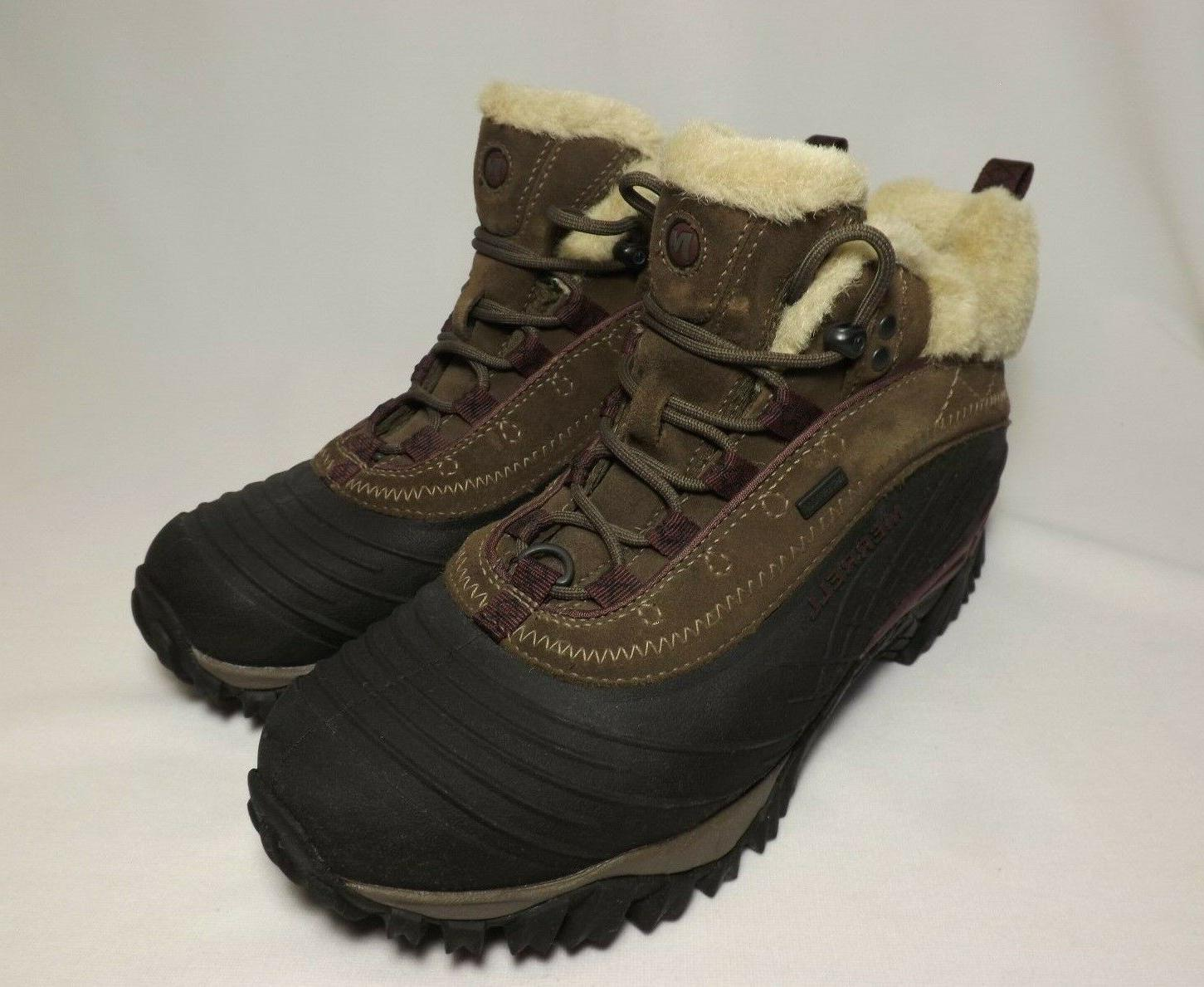 women isotherm mid waterproof winter hiking boots