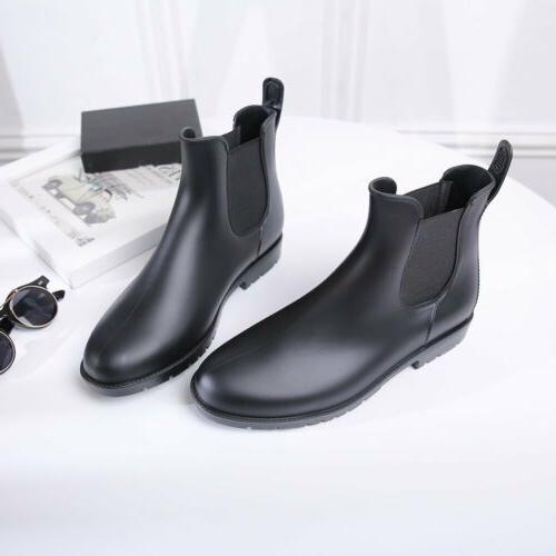 Women Short Rain Boots On Chelsea GEN