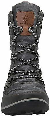 GLOBALWIN Snow Boots, 1841grey, 7.5