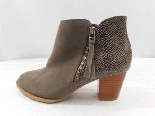 VIONIC 322 Suede Zippered SIze 8.5 Gray