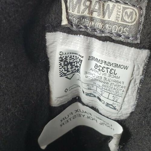 MERRELL Women's Ice+ Waterproof Size 8.5 Brown