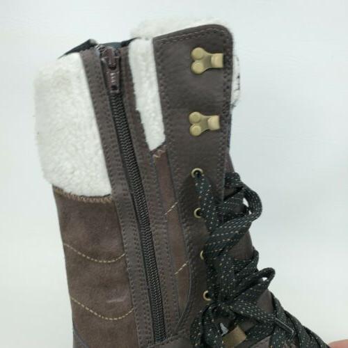 MERRELL Women's Aurora Tall Ice+ 8.5 Brown Boots
