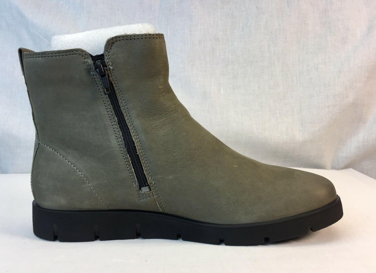 ECCO Women's Ankle Bootie Grey Casual Boots