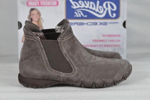 Women's Skechers Boots Chocolate