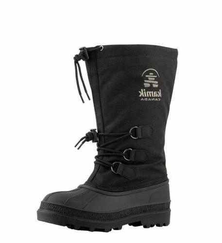Kamik Women's Canuck Adjustable Bungee Lace Lock Winter Boot
