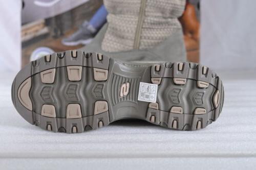 Women's Skechers D'Lites-Star Seeker Boots Taupe