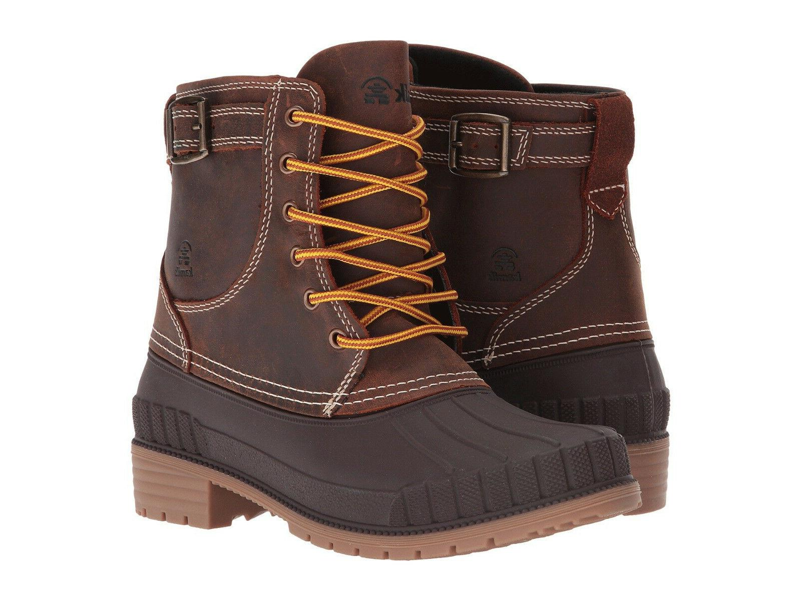 women s evelyn waterproof insulated leather duck