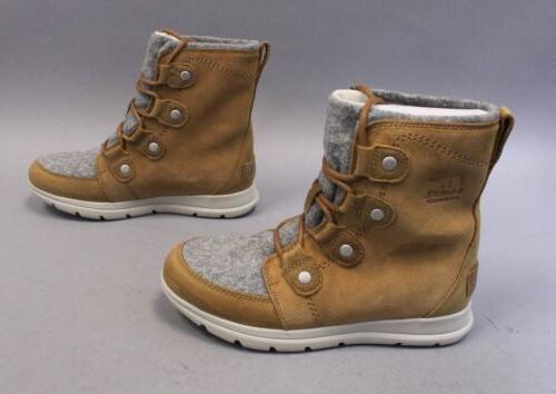 Sorel Joan Waterproof Winter Boots Camel