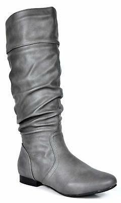 DREAM PAIRS Women's Flat Knee High Boots - Choose SZ/Color