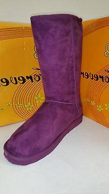 Women's Forever Aling-8 Purple Snow Winter Shoes Boots Size