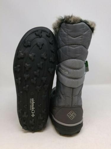 Columbia Grey Boots Size