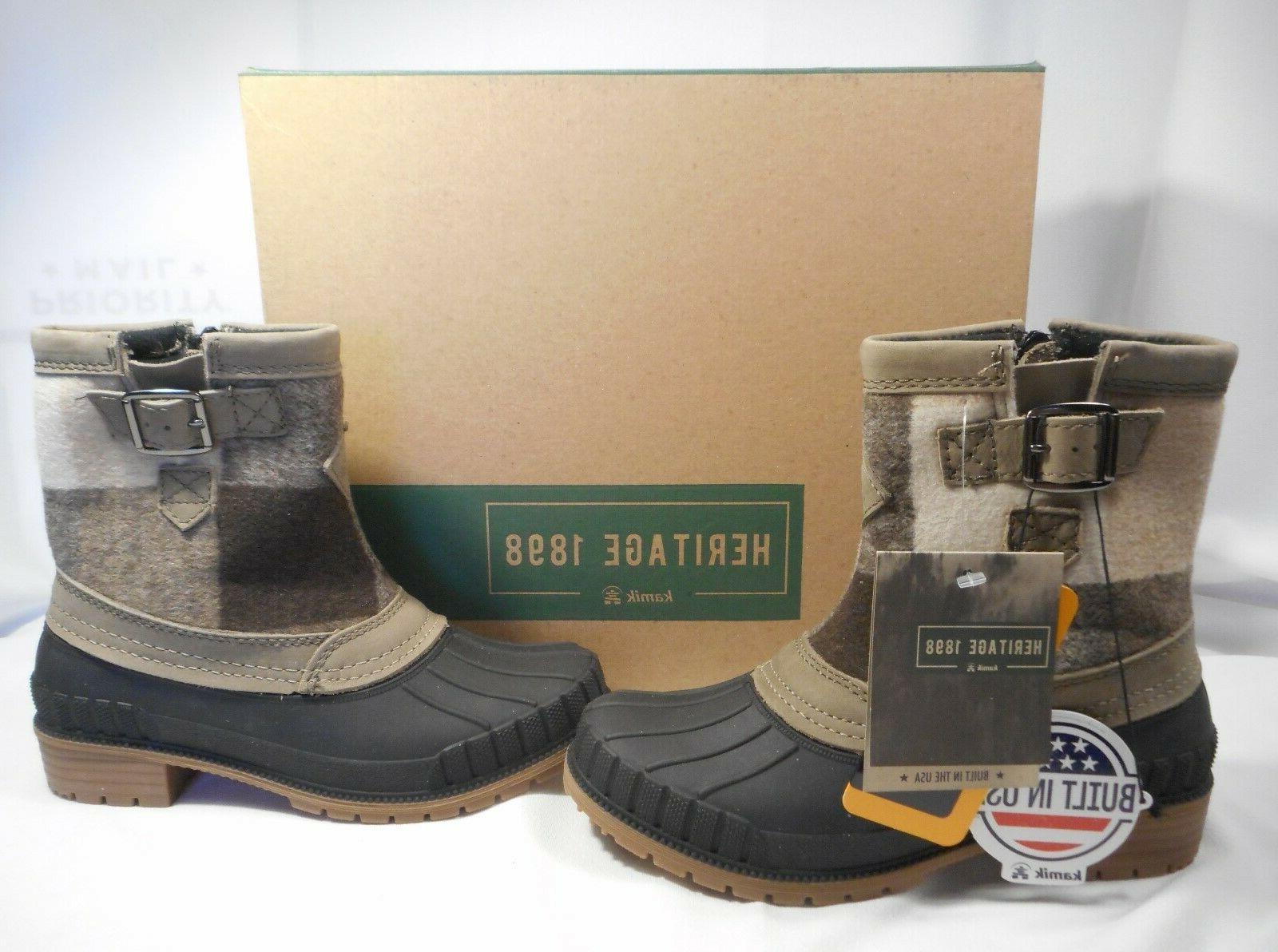 Kamik Insulated Boots Lightweight Sz 7 Rt. $110