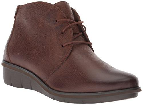 women s joy ankle boot brown burnished