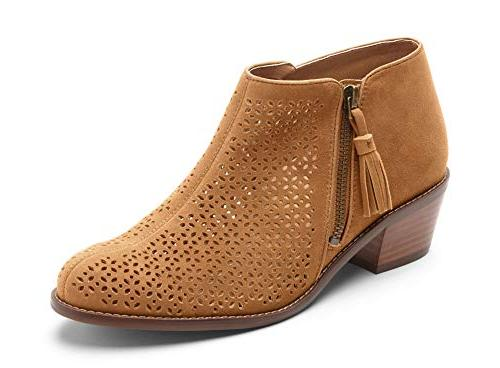 women s joy daytona ankle boot caramel