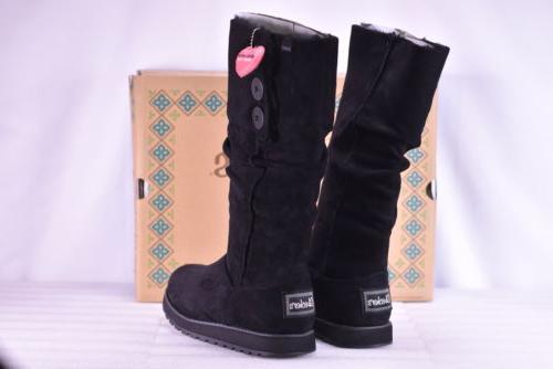 Women's Skechers Keepsakes- Freezing Point Boots Black