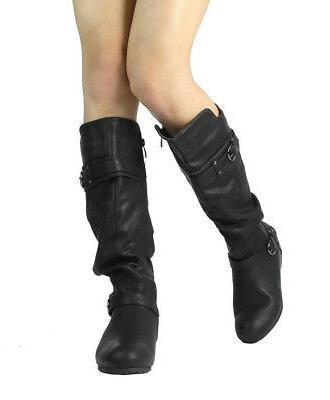 DREAM Women's High Wedge Boots