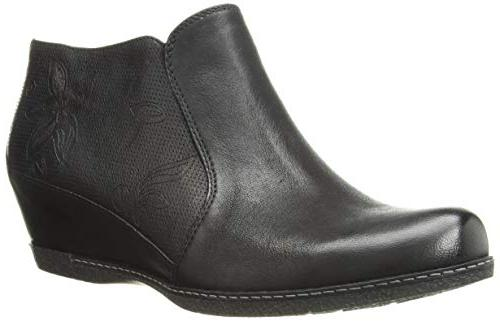 women s luann ankle boot black burnished