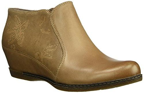 women s luann ankle boot taupe burnished