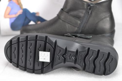 Women's Skechers Metronome-Mod Sqaud Ankle Black