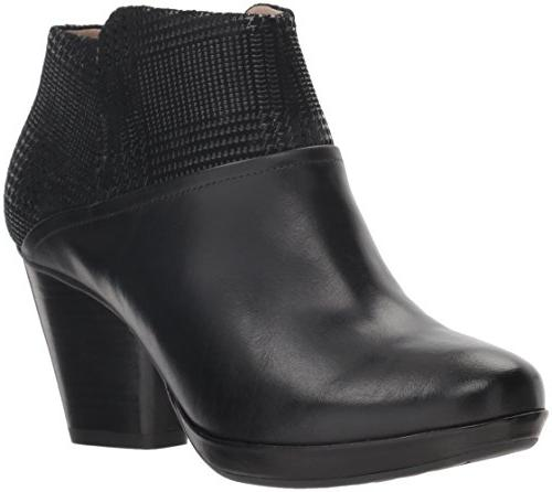 women s miley ankle boot black burnished