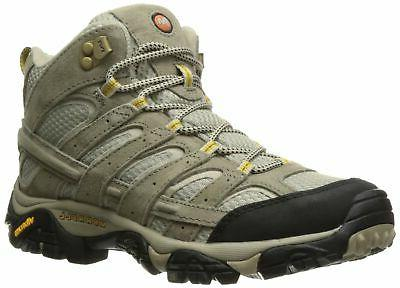 Merrell Women's Moab 2 Vent Mid Hiking Boot, Taupe, 7 W US