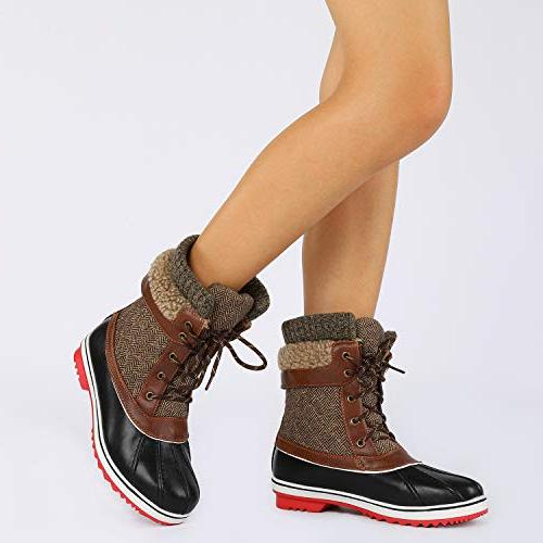 DREAM Brown Snow Boots M