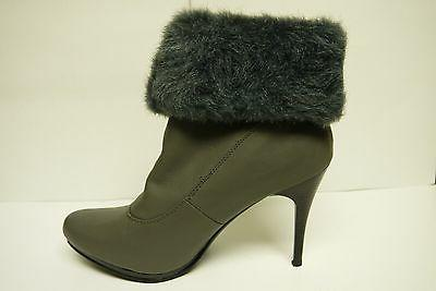 Women's Forever Link Natalia 58 Gray Fashion Boots Multiple
