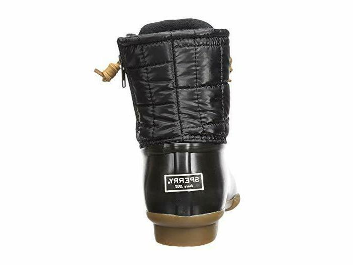 Sperry Quilted Rain Boots, Size
