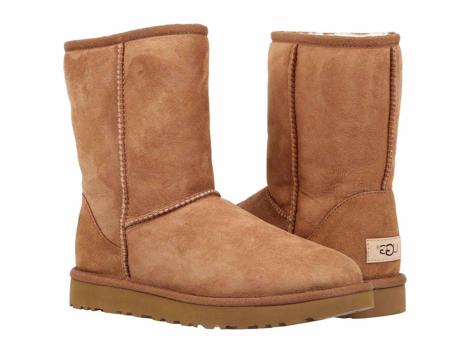 Women's Shoes UGG Classic Short II Boots 1016223 Chestnut 5
