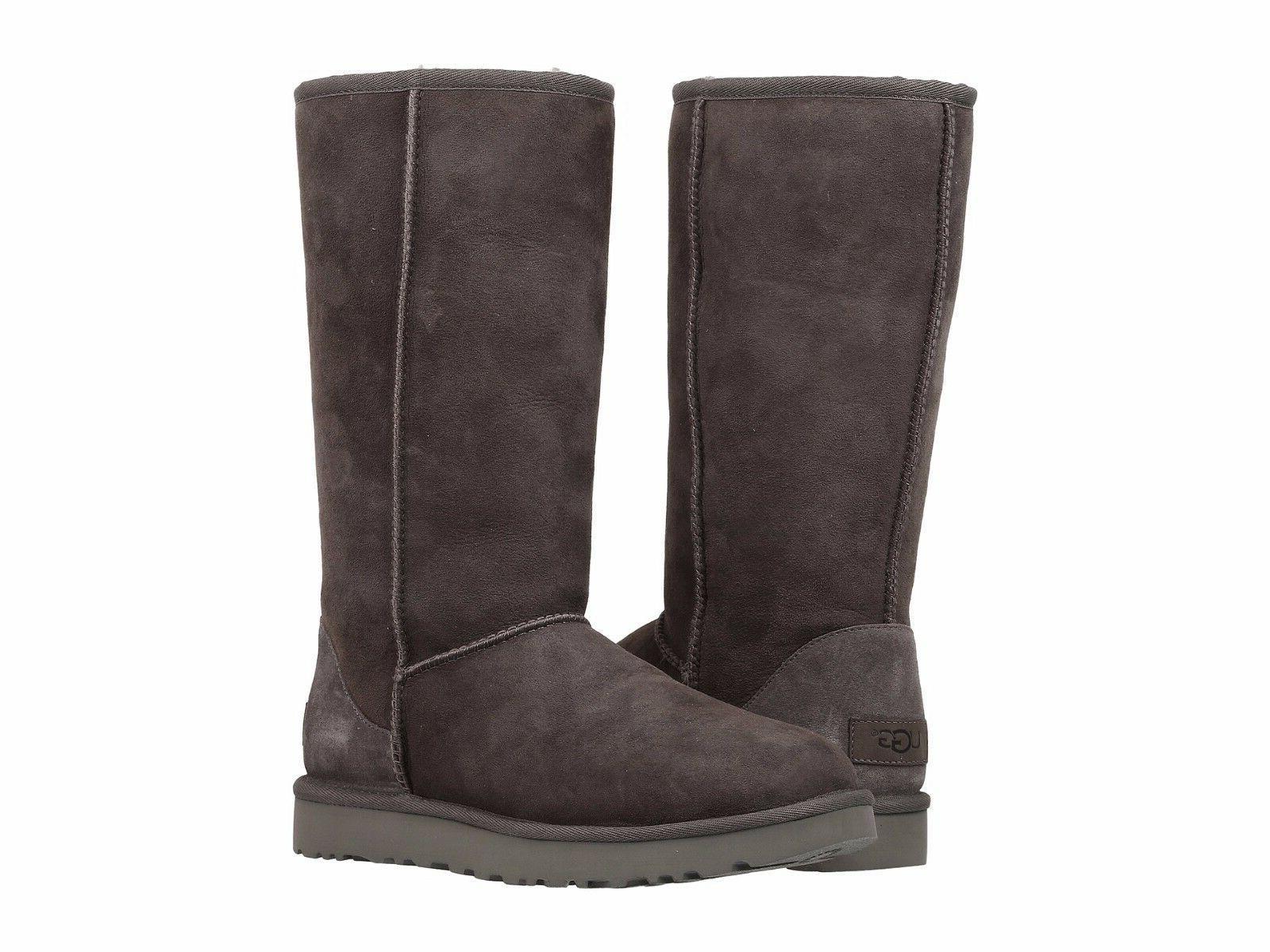 Women's Shoes UGG Classic Tall II Boots 1016224 Grey 5 6 7 8