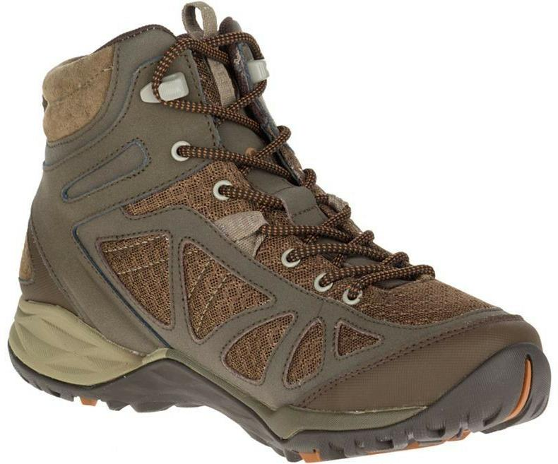 Women's MERRELL Siren Sport Q2 Waterproof Mid Walking Boots