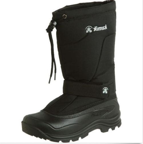 women s snow boots size 7 black