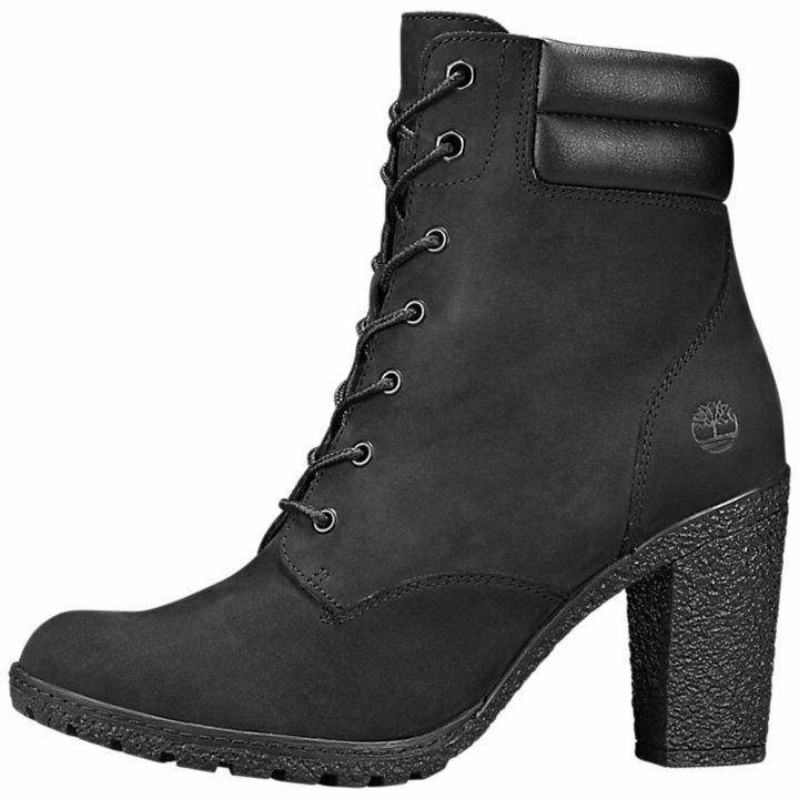 Perplejo Útil hasta ahora  Timberland Women's Tillston High Heel Black Leather Boots