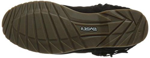 Teva Women's Low Suede Boot, Black, M US
