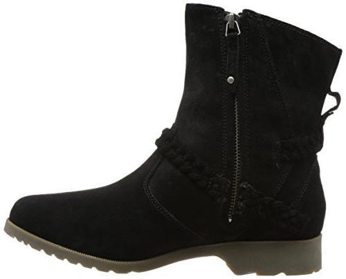 Teva Low Boot, Black, 6 US