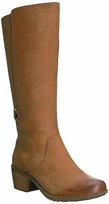 womens w foxy tall leather round toe