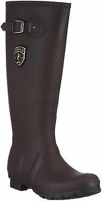 Women's Kamik Waterproof Rain Boots Jennifer Brown