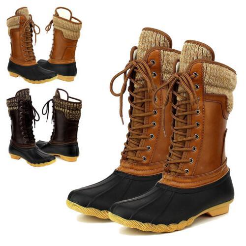 women s waterproof rubber warm hiking snow