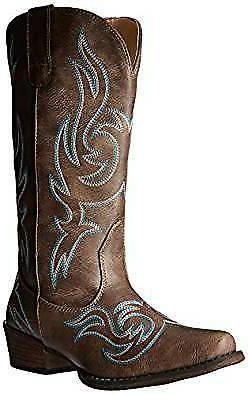 Silver Canyon Women's Western Cowgirl Reno Snip Square Toe B