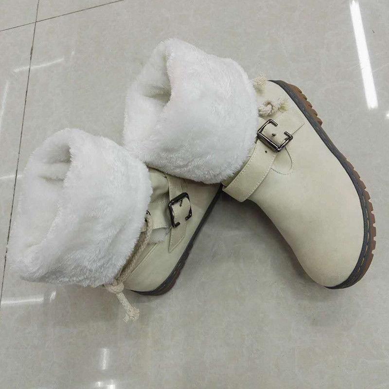 Womens Winter Fur Warm Comfy Casual Shoe