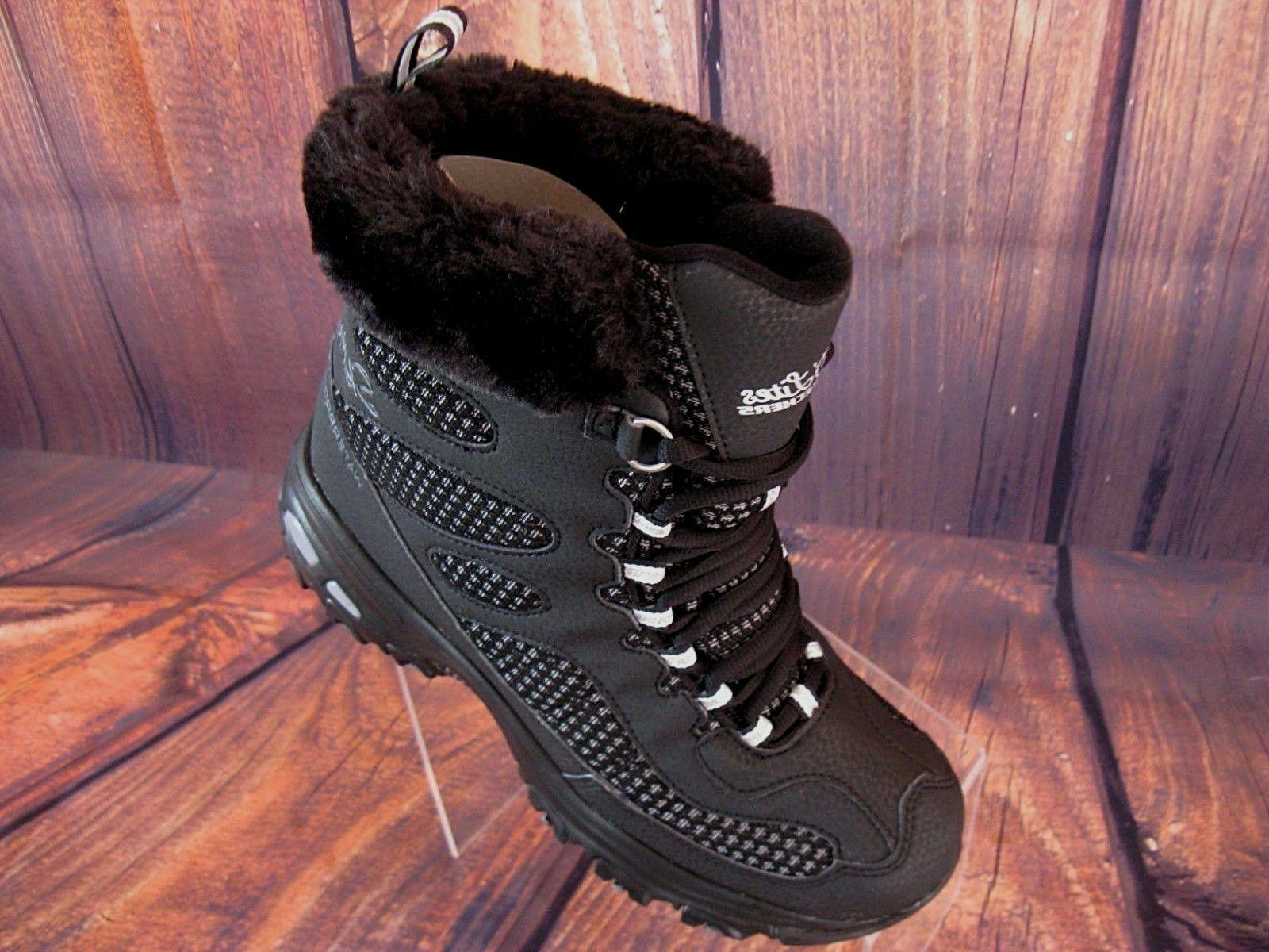 Skechers Women's Boots Waterproof D'Lites 8M