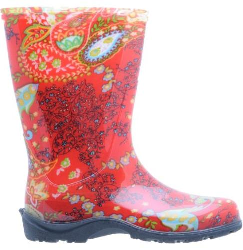 Sloggers Women's Waterproof and Garden Comfort Insole, Paisley Size Style