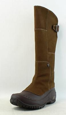 womens anna purna brown fashion boots size