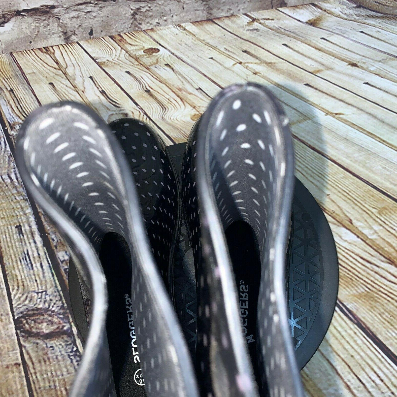 Sloggers White Polka Rain Boots Size 10