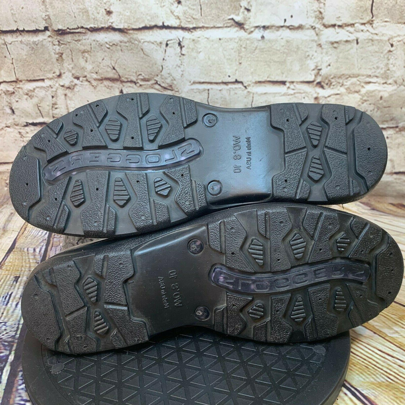 Sloggers Black White Dot Boots
