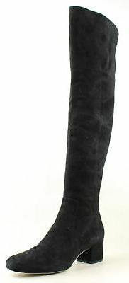 womens black fashion boots size 9 5