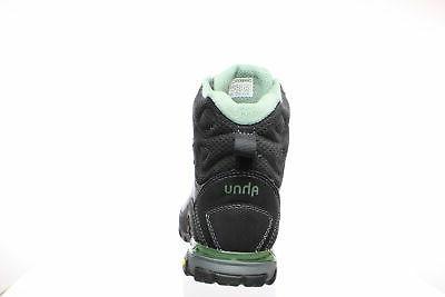 Teva Womens Black/Green Hiking Boots Size 8
