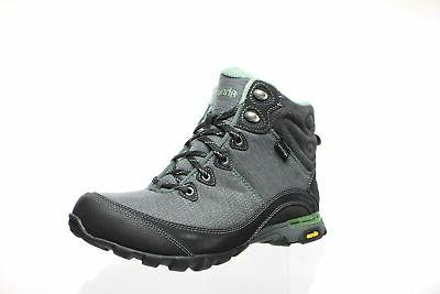 womens black green bay hiking boots size